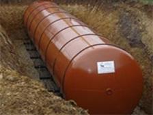 Underground fire water tanks