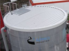 Over ground fire water tanks